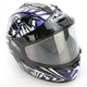 Blue/Black/White IS-16 SN Specter Helmet