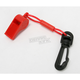 Red Whistle with Clip - A2701C
