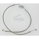 Rear Standard Length Clear-Coated Braided Stainless Steel Brake Line Kits - 1741-1789