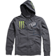 Charcoal Monster RC 4 Zip Hoody