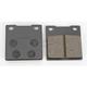 Standard Organic/Carbon Fiber Brake Pads - VD327