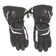 Womens Black/Snow Print Storm Gloves
