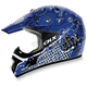 Blue VX-17 Bling Helmet