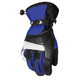 Blue/Black Blitz Snowcross Gloves