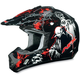Youth Black Special Edition FX-17Y Zombie Helmet