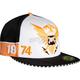 White/Orange Standard Re-Issue Hat