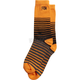 Day Glo Orange Shock Crew Socks