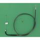 Black Pearl Designer Series Alternative Length Braided Throttle Cables for Custom Handlebars - 43256