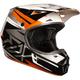 Orange/White V1 Costa Helmet