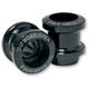 Black Swingarm Spools - R-KABG-K