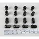 12mm x 1.25mm Standard Lug Nuts - 952-96BK