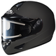 Matte Black CL-16SN Helmet w/Electric Shield