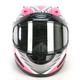 Pink Full Face Helmet