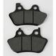 Front Street Carbon Tech High-Performance Brake Pads - 826HCT