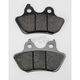Rear Street Carbon Tech High-Performance Brake Pads - 846HCT