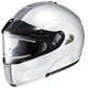 White IS-MAX BTSN Helmet w/Electric Shield