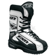 White Unisex Backshift Boots