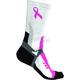 Womens Black/Pink Team Socks - 2608