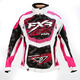 Womens Fuchsia/White Strike Cold Cross Jacket