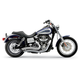 Chrome Swept Speedster Exhaust System w/Powerport - 6227