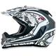 Silver FX-19 Vibe Helmet