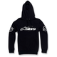 Black Recognized Pullover Hoody