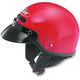 Red VG-500 Half Helmet