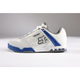 White/Royal Blue Evolve Deluxe Shoes