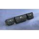 Singature Series Windshield Tri Pouch - HD90-193BK