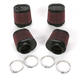 Oval-Type Custom Clamp-On Air Filter Kit - RU-2989