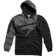 Black/Gray Replica Fleece Zip Hoody
