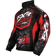 Red/Black Strike Cold Cross Jacket
