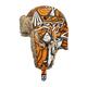 Orange Force Aviator Hat