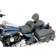 Road Sofa Low Profile Deluxe Touring Seat w/Driver Backrest - 0801-0625