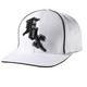 Midnight White Flex-Fit Hat