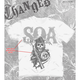 SOA Cracked Letters T-Shirt