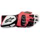 White/Black/Red 2012 SP-2 Gloves