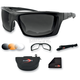 Trident Convertible Polarized Sunglasses/Goggles - BTRI101