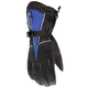Black/Blue Extreme Gloves