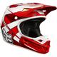 Red/White V1 Race Helmet