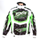 Green/White Strike Cold Cross Jacket