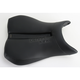 Track - CF One-Piece Solo Seat w/Carbon Fiber-Look Accent and Rear Cover - 0810-Y108