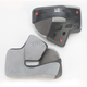 Grey Cheek Pad Set for RS-1 Helmet Sizes XS-S