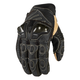 Black Overlord Short Gloves