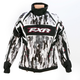 Womens Hex Camo/White Velocity Storm Jacket
