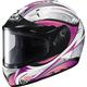 White/Black/Pink IS-16 Lash Helmet