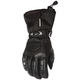 Womens Black Cascade Gloves
