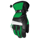 Green/Black Blitz Snowcross Gloves