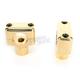Solid Brass Handlebar Risers - LA-7401-50