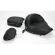 Studded Wide Touring Seat with Driver Backrest - 79410